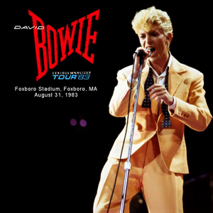 David Bowie 1983-08-31 Foxborough ,Sullivan Stadium - SQ 8