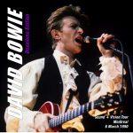 David Bowie 1990-03-06 Montreal , The Forum - Deuxieme Edition - SQ 8