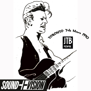 David Bowie 1990-03-07 Toronto ,Skydrome - Skydome Toronto - SQ 7,5