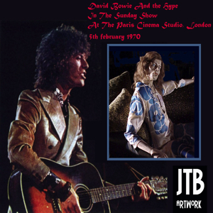 David Bowie 1970-02-05 London ,Paris Cinema Studio ,BBC Session - SQ 7+