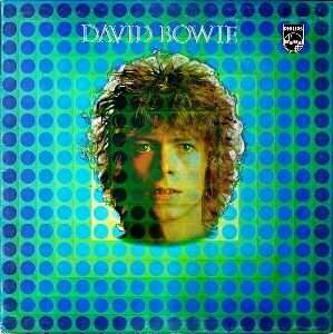David Bowie - David Bowie or Man of Words/Man of Music (1969 - reissued 1972 as Space Oddity)