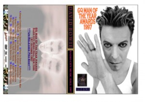 David Bowie GQ Man Of The Year Awards 1997-10-15 Radio City Music Hall