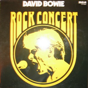 David Bowie Rock Concert (1974)