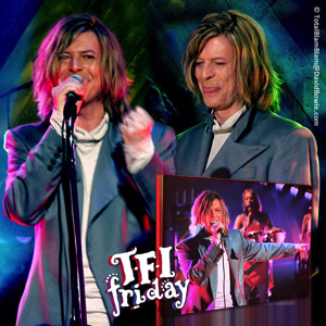 David Bowie 1999-11-26 TFI Friday Show ,UK TV Channel 4 (Rebel Rebel) - SQ 10