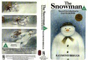 David Bowie The Snowman (VHS - 1982)