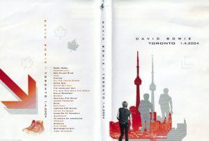 David Bowie 2004-04-01-Toronto 1.4.2004–Live at the Canada Centre,Toronto
