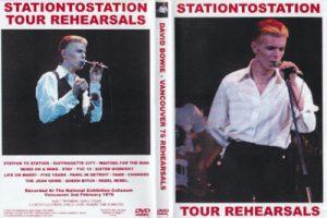 David Bowie 1976-02-02 Vancouver ,Pacific National Exhibition Coliseum - Vancouver 76 Rehearsals - (90 minutes)