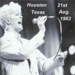 David Bowie 1983-08-21 Houston ,The Summit (RD) - SQ 8,5