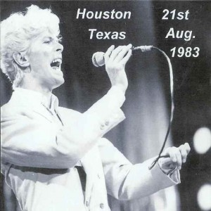 David Bowie 1983-08-21 Houston ,The Summit (RD) - SQ 8,5