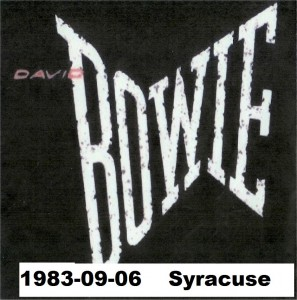 David Bowie 1983-09-06 Syracuse ,Carrier Dome - (RAW ,RD) - SQ 8