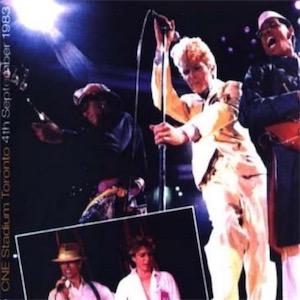 David Bowie 1983-09-04 Toronto ,Canadian National Exhibition Grandstand (Diedrich) - SQ 8,5