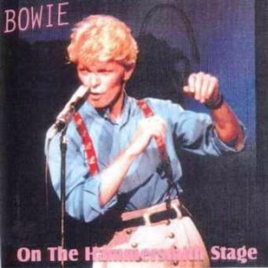 David Bowie 1983-06-30 London ,Hammersmith Odeon - On The Hammersmith Stage - SQ 8,5