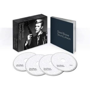 David Bowie Sound + Vision CD box of 4 cd's