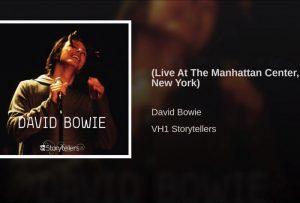 David Bowie 1999-08-23 New York Manhattan Center (VH1 Storytellers)