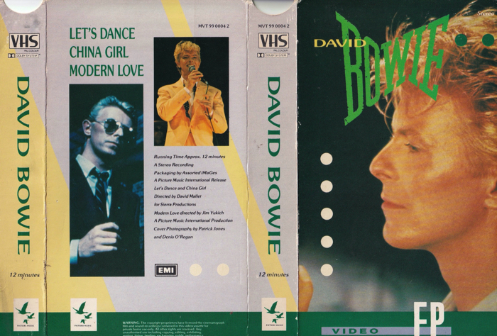 David Bowie Video EP 1983