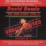 David Bowie The Jean Genie (Vol. 1) Live In Europe 1969-72 - BBC session Compilation 1969-1972- SQ -9