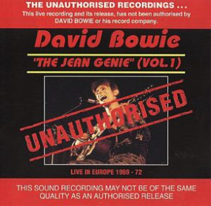 David Bowie The Jean Genie Vol.1 (BBC session Compilation 1969-1972) - SQ -9