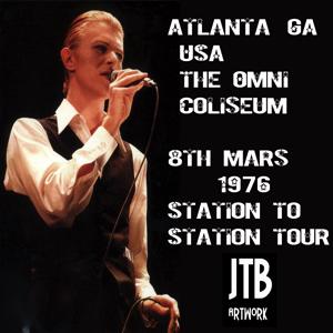 David Bowie 1976-03-08 Atlanta ,The Omni Arena - Atlanta 760308 (1) - SQ 5,5