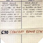 David Bowie 1976-05-18 Paris ,Pavillion de Paris (Low gen) - SQ -8