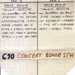 David Bowie 1976-05-18 Paris ,Pavillion de Paris (Low gen) – SQ -8
