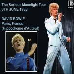 David Bowie 1983-06-08 Paris ,France Hippodrome d'Auteuil (Source 2 VHS) –  SQ 7,5