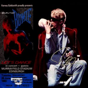 David Bowie 1983-06-28 Edingburgh, Murrayfield Stadium - Edinburgh June 28 - (2e gen.) - SQ 8,5