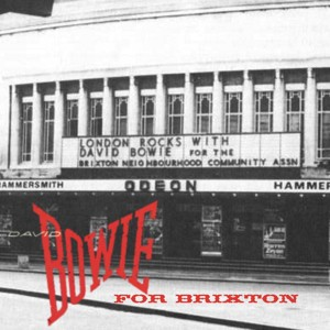 David Bowie 1983-06-30 London ,Hammersmith Odeon - Bowie For Brixton - SQ 8,5