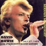 David Bowie 1983-07-27 New York ,Madison Square Garden (off Master) - SQ 7,5