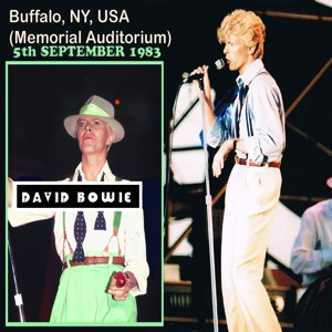 David Bowie 1983-09-05 Buffalo ,Memorial Auditorium - Buffalo 1983 - SQ 8,5