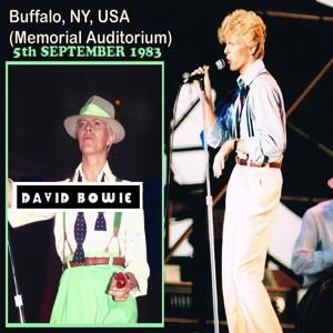 David Bowie 1983-09-05 Buffalo ,Memorial Auditorium - Buffalo 1983 - SQ 8,5