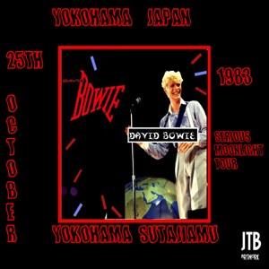 David Bowie 1983-10-25 Yokohama ,Japan ,Yokohama Arena (MWP) SG 8+
