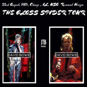 David Bowie 1987-08-22 Chicago , Rosemont Horizon - Rosemont 870822 - SQ -8