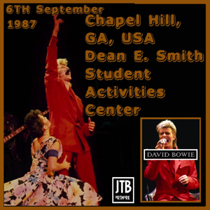 David Bowie 1987-09-06 Chapel Hill ,Dean Smith Centre - Chapel Hill 870906 - (RAW) - SQ -8
