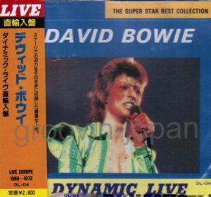 David Bowie Dynamic Live - BBC Sessions 1969-1972 ,Santa Monica 1972-10-20 - SQ 8,5