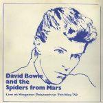David Bowie 1972-05-06 London ,Kingston Polytechnics - Live At The Kingston Polytechnics - SQ -8