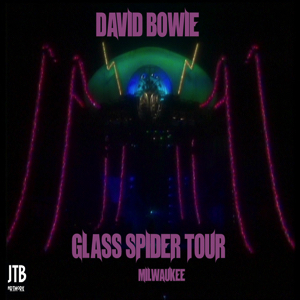 David Bowie 1987-09-11 Milwaukee ,Marcus Amphitheater - SQ 7+