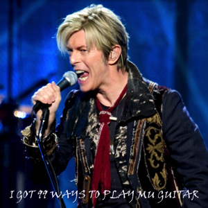David Bowie 2004-05-22 Molina ,The Mark of the Quad Cities - I've Got 99 Ways To Play My Guitar - SQ 8
