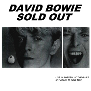 David Bowie 1983-06-11 Gothenburg ,Nya Ullevi Stadium - Sold Out - SQ 8+