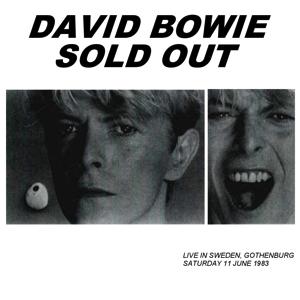 David Bowie 1983-06-11 Gothenburg ,Nya Ullevi Stadium - Sold Out - SQ 8+