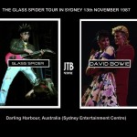 David Bowie 1987-11-13 Sydney ,Entertaiment Centre – Sydney 871113 – SQ 7,5