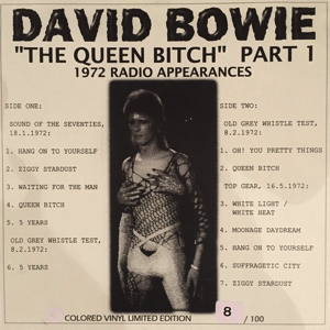 David Bowie BBC Sessions 1972 ‎– The Queen Bitch Part 1 - SQ 8,5