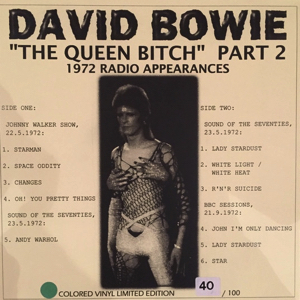 David Bowie The Queen Bitch Part 2 - (BBC Session 1972) - SQ 8,5