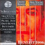David Bowie 1996-10-19-20 Mountain View, Shoreline Amphitheatre - The Benefit 1996 - SQ 9+