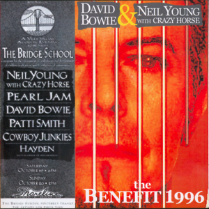 David Bowie 1996-10-19-20 Mountain View ,Shoreline Amphitheatre – The Benefit 1996 (2) – (the Bridge School Benefit) - SQ 9+