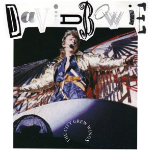 David Bowie 1987-06-06 Berlin ,Platz der Republik - The City Crew Wings - SQ 7,5