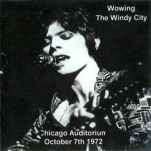 David Bowie 1972-10-07 Chicago ,Auditorium Theatre – Woming The Windy City - SQ 7,5