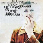 David Bowie 1996-07-20 Balingen ,Piazzetta Del Valle (Festival) - Das Balinger Rockfestival - SQ 8+
