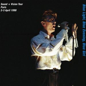 David Bowie 1990-04-02 +03 Paris ,Palais Omnisports - Blue Lights ,Blue Evening ,Blue Girl - SQ 8