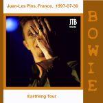 David Bowie 1997-07-30 Juan-les-Pins ,Pinede Gould – Juan-les-Pins, France 1997-07-30 – (off Master) – SQ 8+