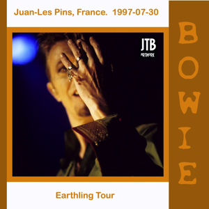 David Bowie 1997-07-30 Juan-les-Pins ,Pinede Gould - Juan-les-Pins, France 1997-07-30 - (off Master) - SQ 8+